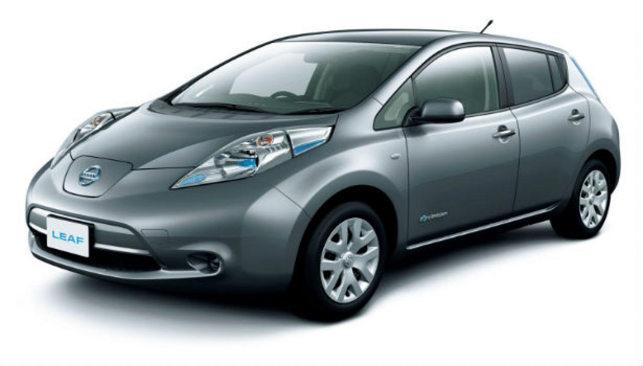 2015 nissan leaf information and photos zombiedrive. Black Bedroom Furniture Sets. Home Design Ideas