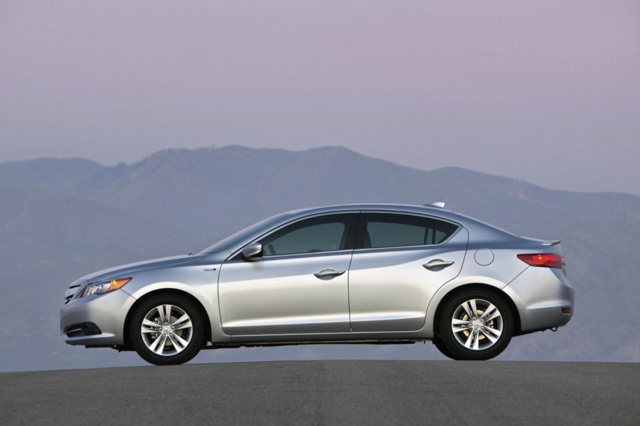 Black And White Yet Stylish Rollout Of Acura ILX
