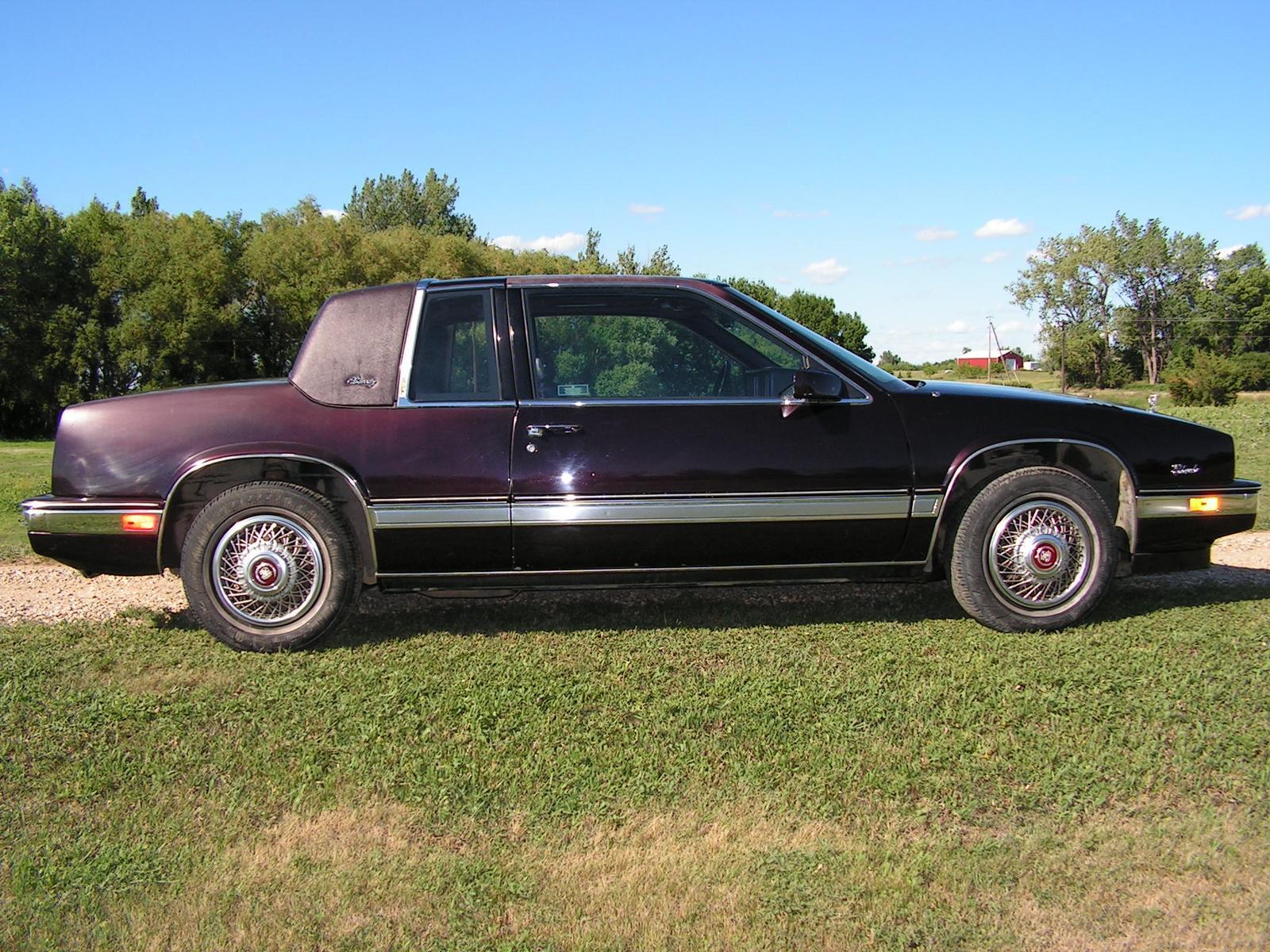 1990 Cadillac Eldorado Information And Photos Zombiedrive