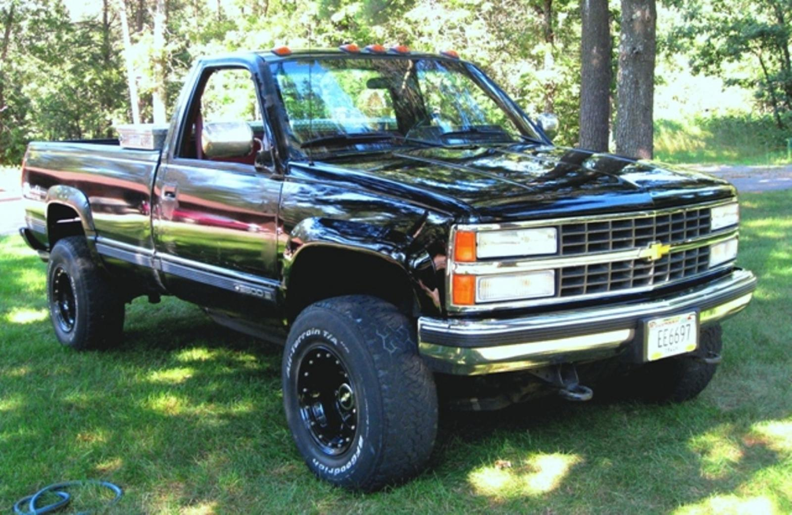 Chevrolet C K Series on Pictures Of A 1991 Chevy Extended Cab 4x4