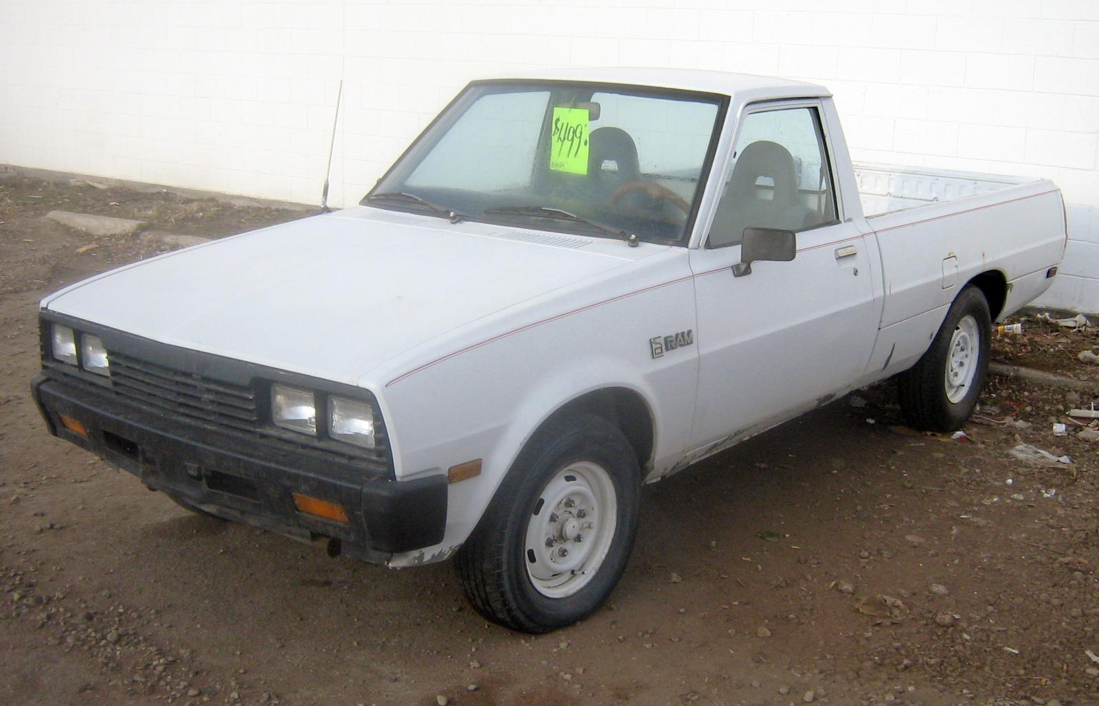 1990 Dodge Ram 50 Pickup - Information and photos ...