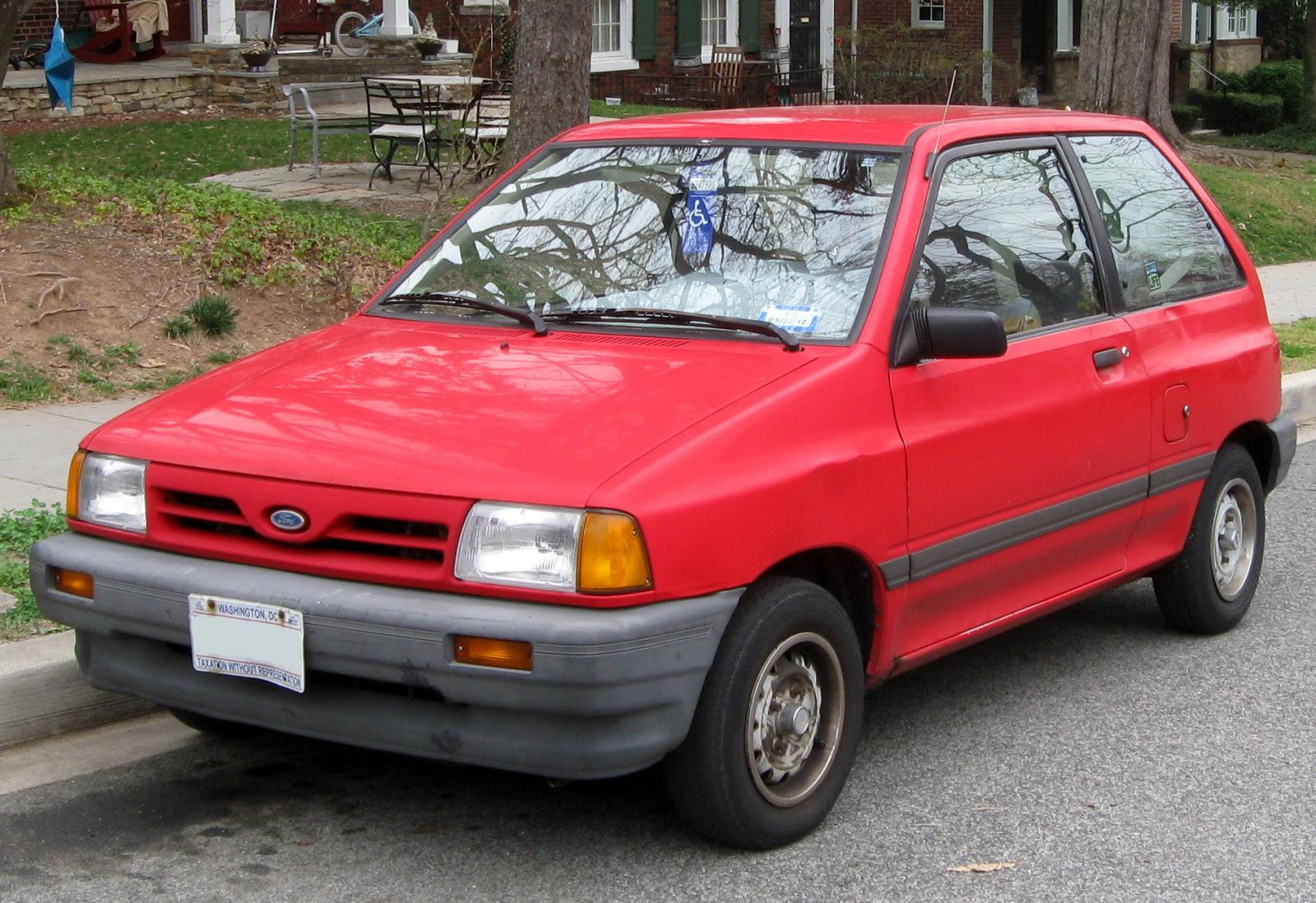 1990 Ford Festiva Information And Photos Zombiedrive