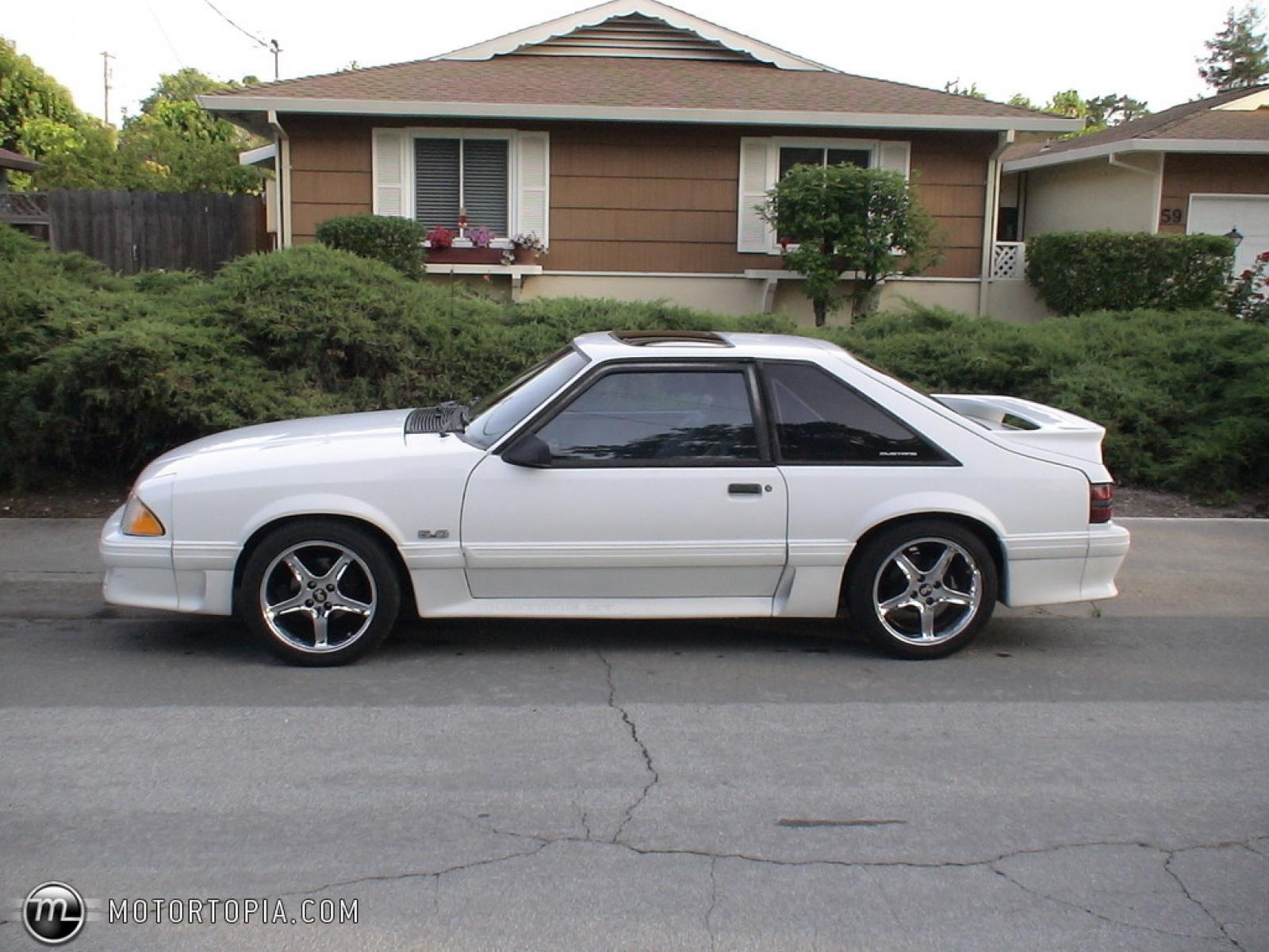 1990 ford mustang information and photos zomb drive