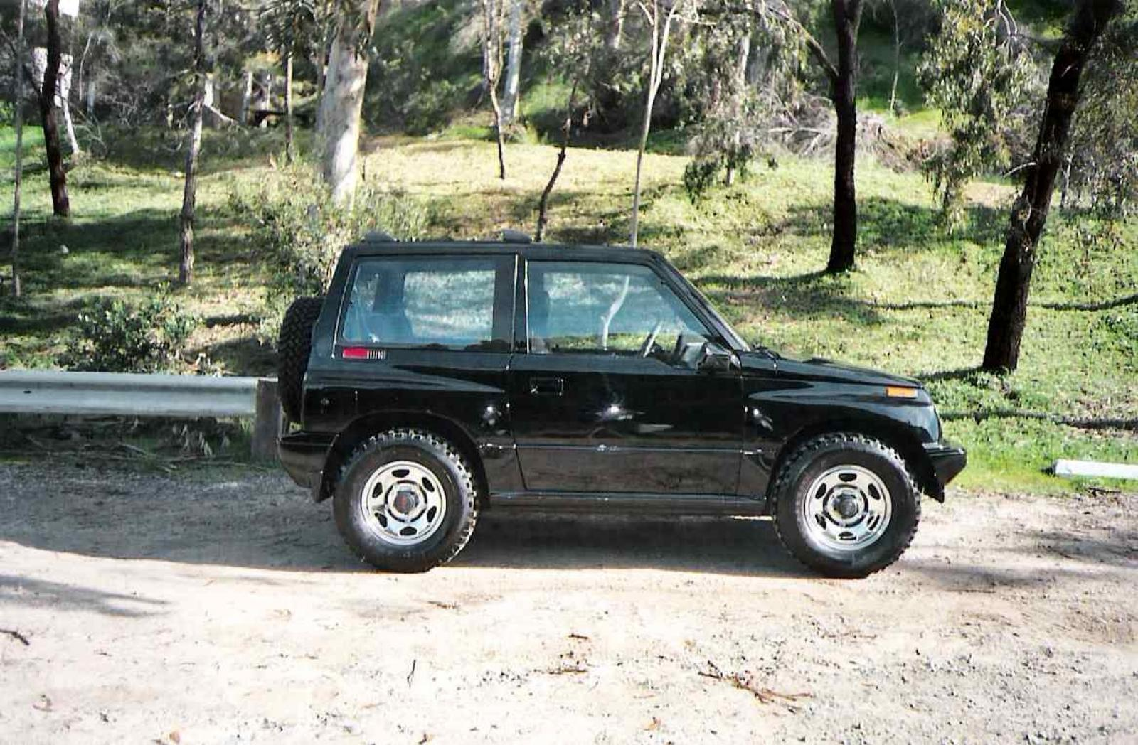 1990 Geo Tracker - Information and photos - Zomb Drive