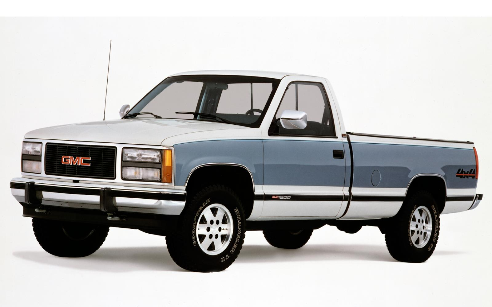 1990 gmc sierra 1500 information and photos zombiedrive. Black Bedroom Furniture Sets. Home Design Ideas