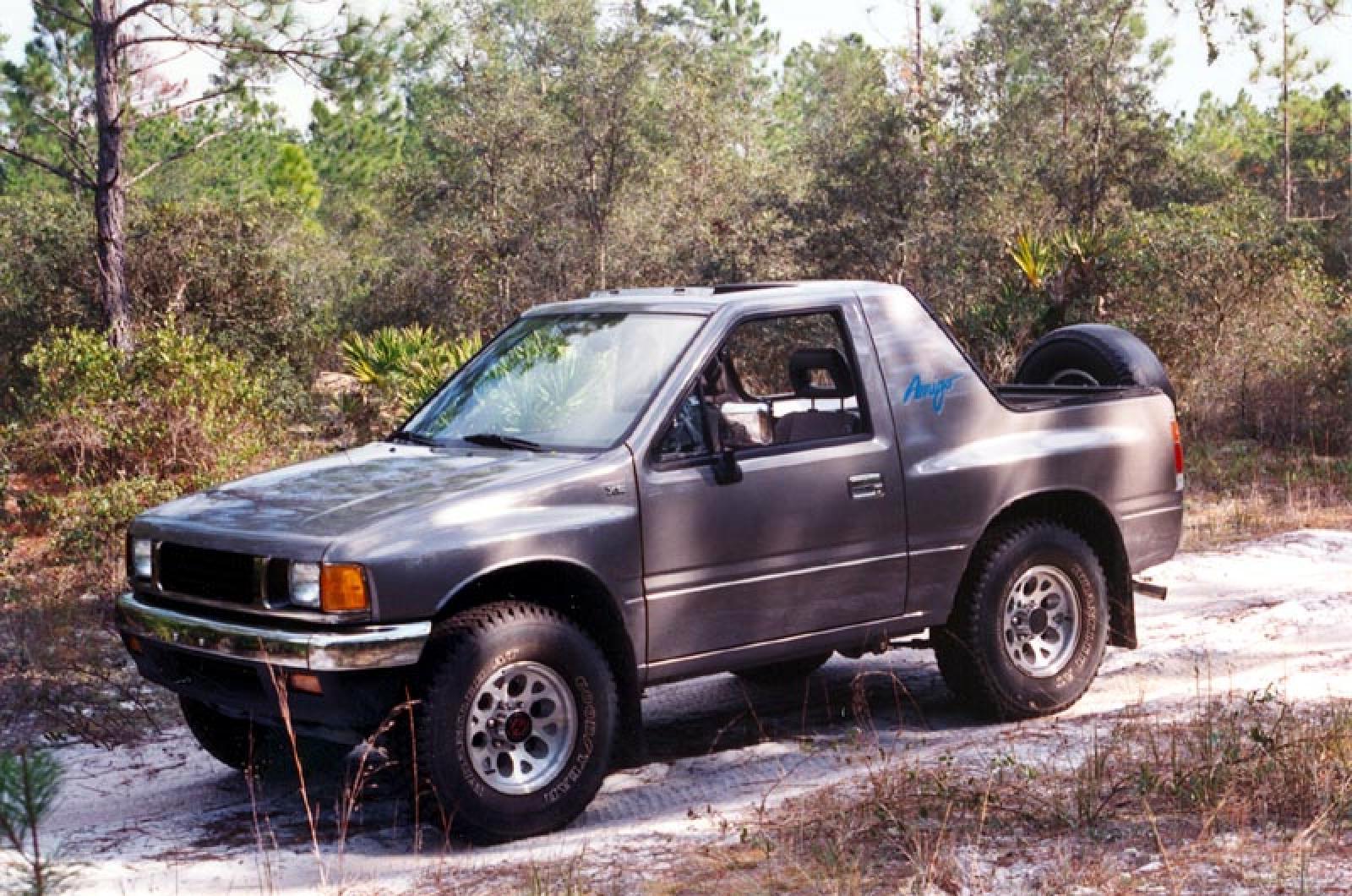 1990 Isuzu Amigo - Information and photos - Zomb Drive