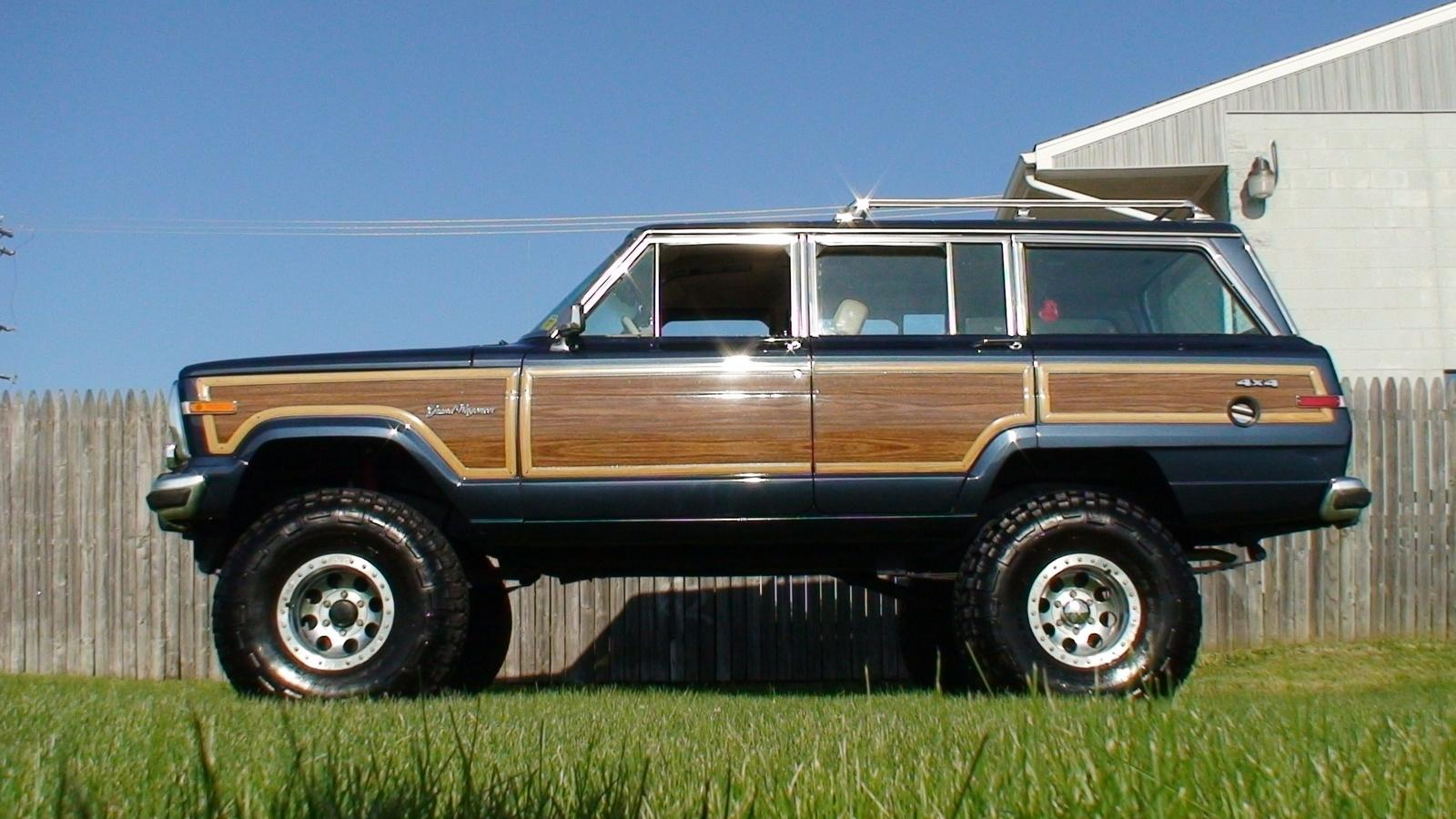 1990 jeep grand wagoneer information and photos. Black Bedroom Furniture Sets. Home Design Ideas