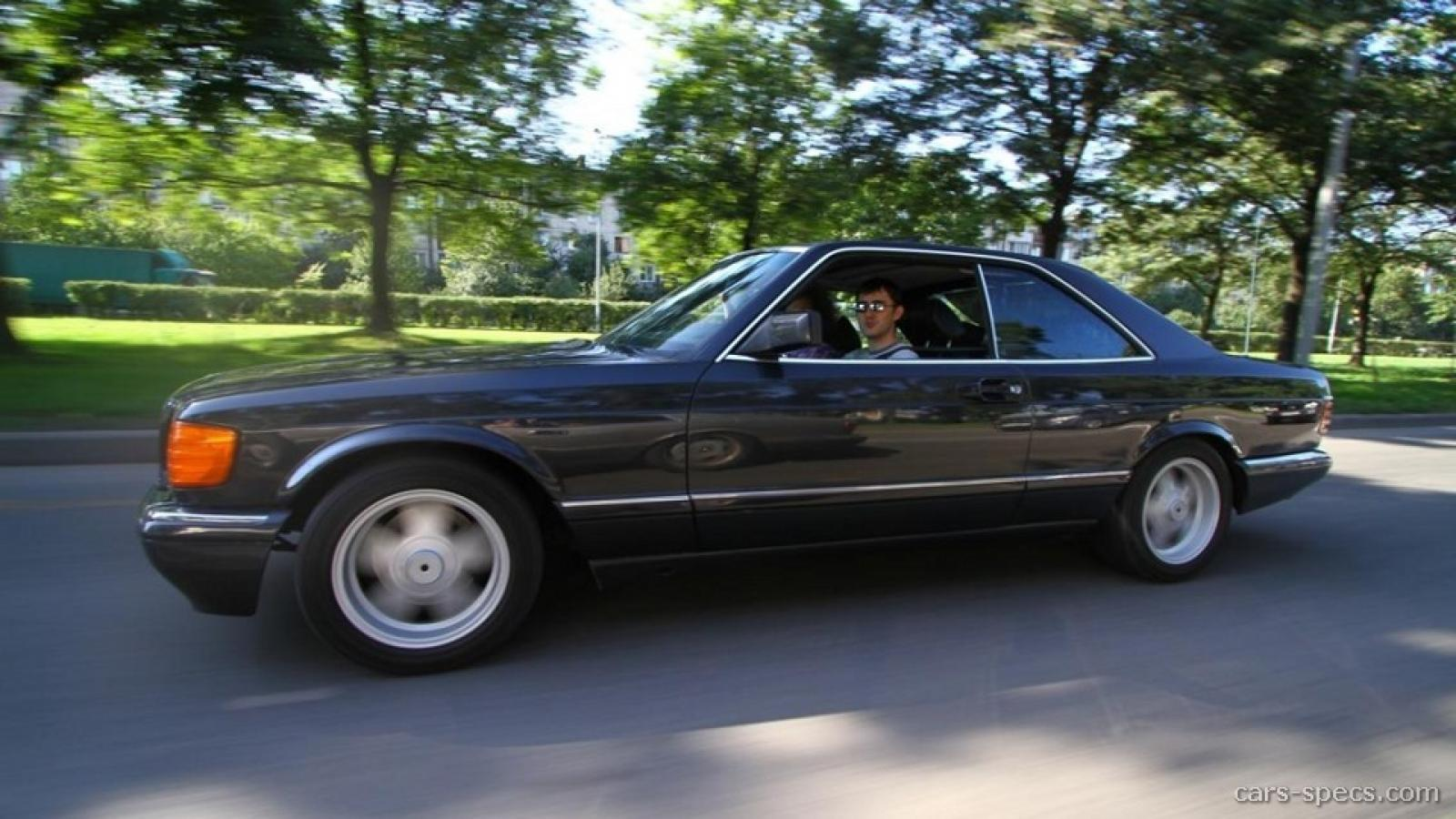 1990 Mercedes-Benz 560-Class - Information and photos - Zomb