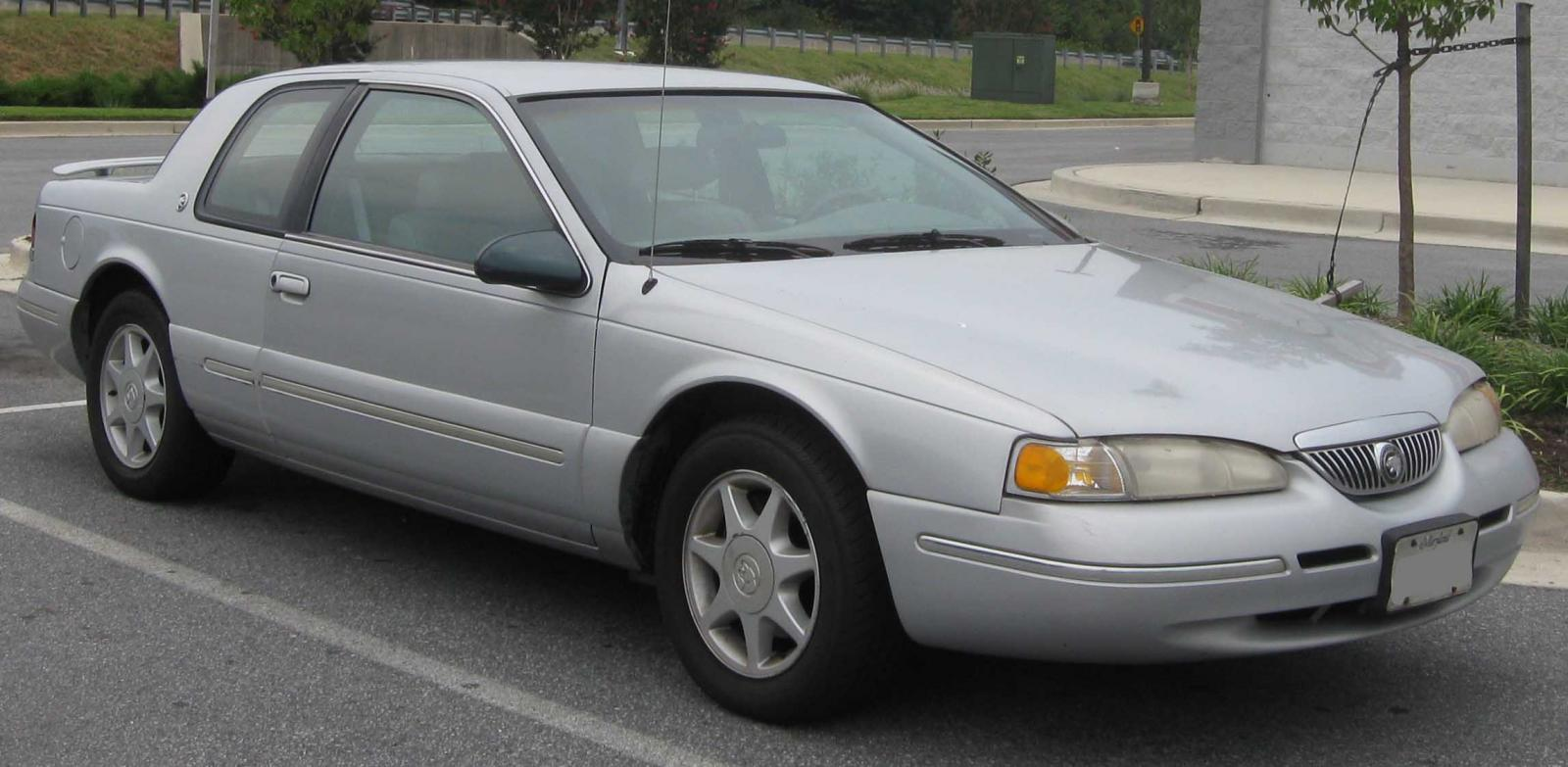 1990 Mercury Cougar Information And Photos Zomb Drive