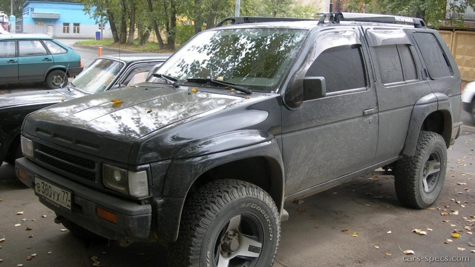 Nissan Pathfinder Source · 1990 Nissan Pathfinder Information And Photos  ZombieDrive