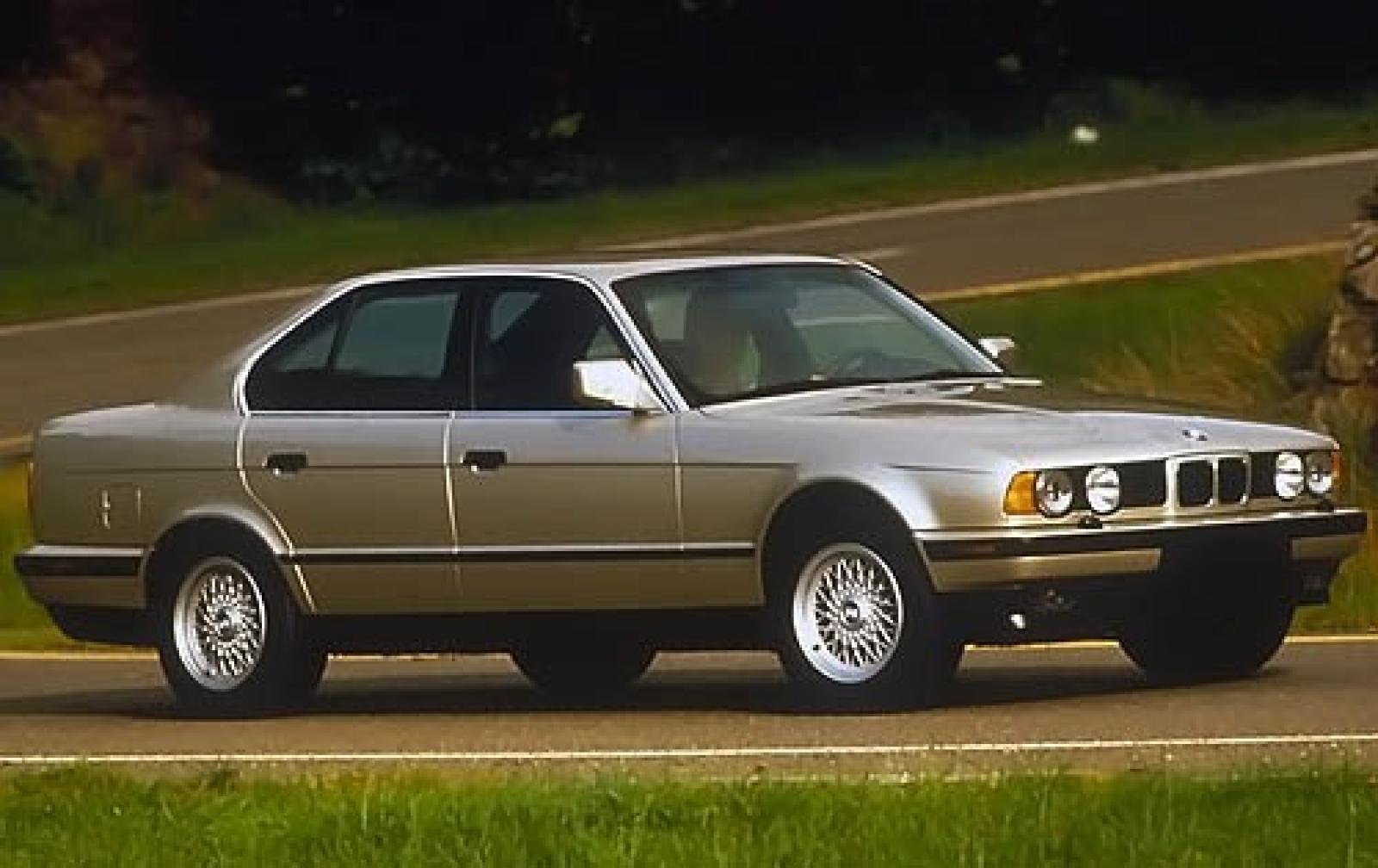 1990 bmw 5 series information and photos zombiedrive. Black Bedroom Furniture Sets. Home Design Ideas