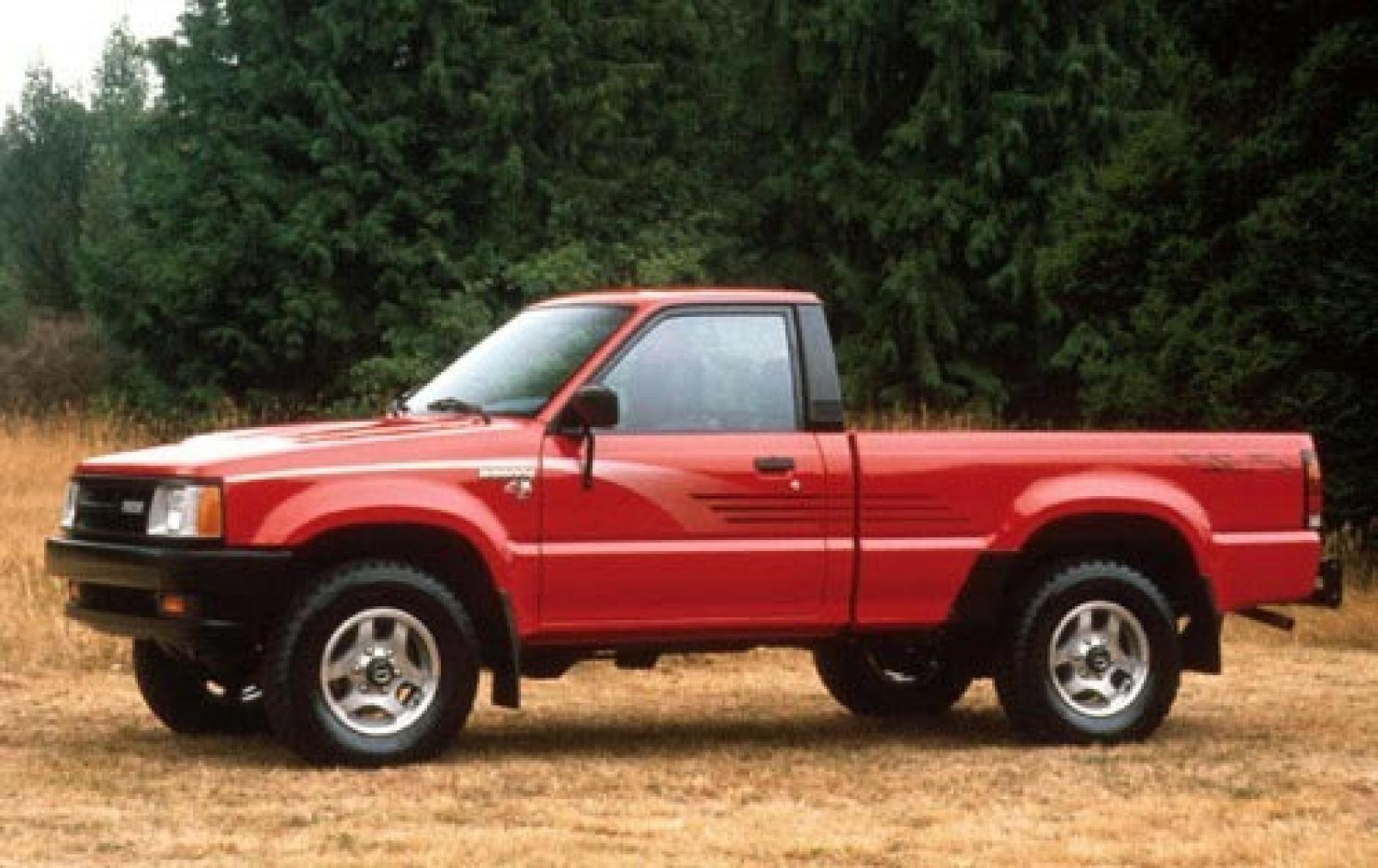 1990 Mazda B Series Pickup Information And Photos