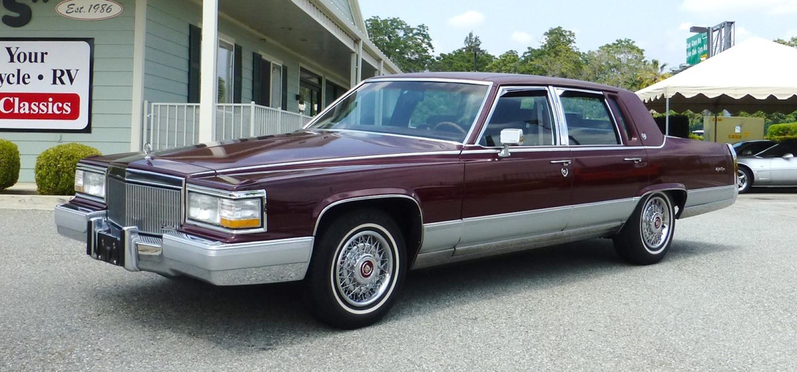 1991 Cadillac Brougham Information And Photos Zombiedrive Fuse Box 800 1024 1280 1600 Origin