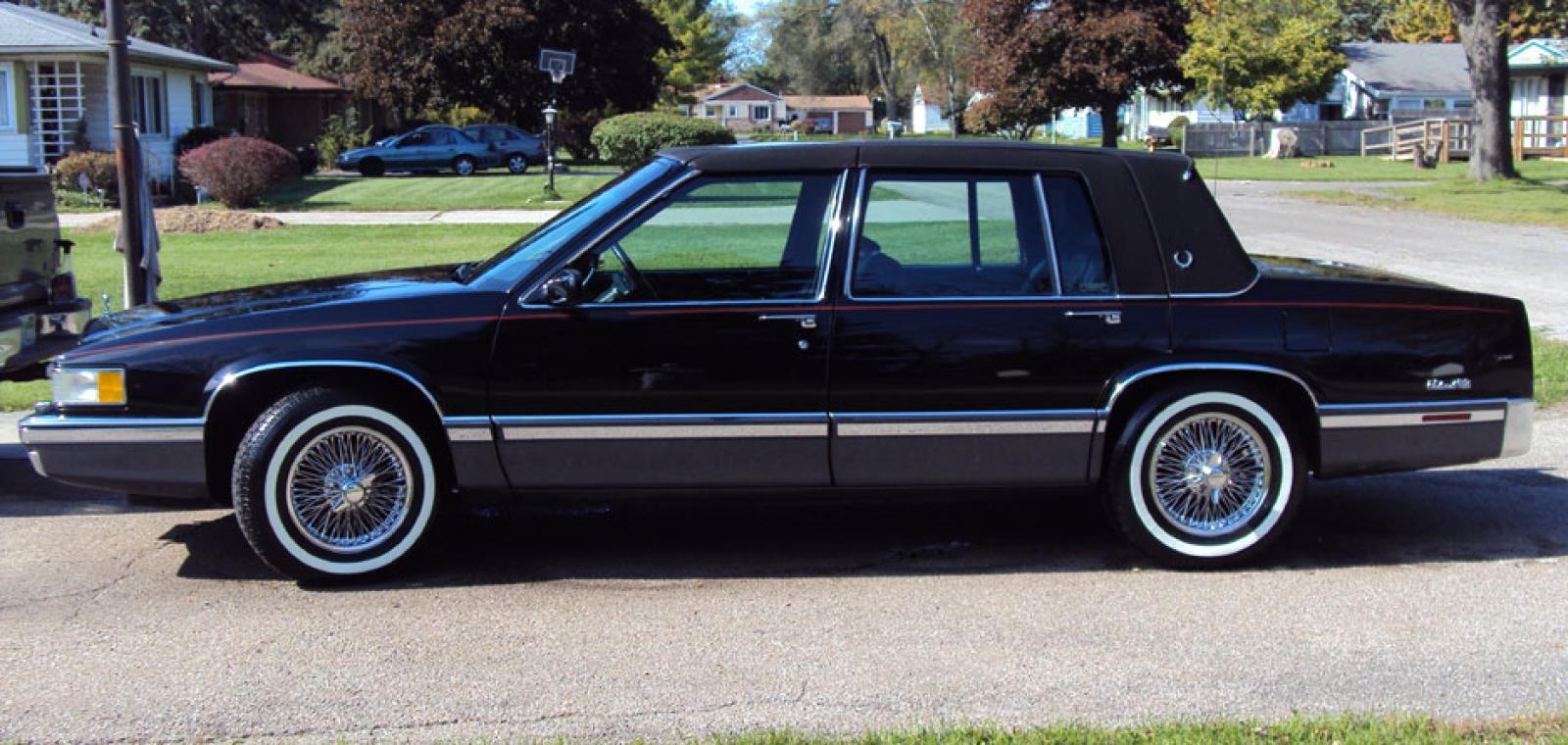 1991 Cadillac Deville Information And Photos Zomb Drive