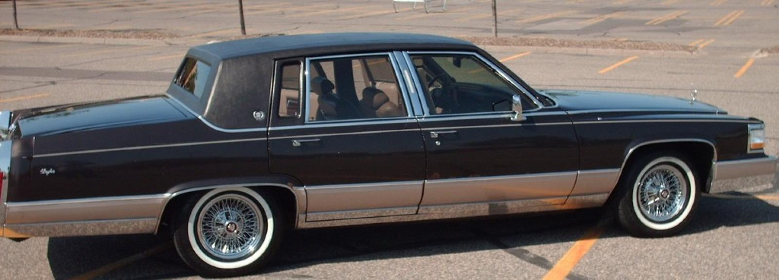 1991 Cadillac Fleetwood - Information and photos - ZombieDrive