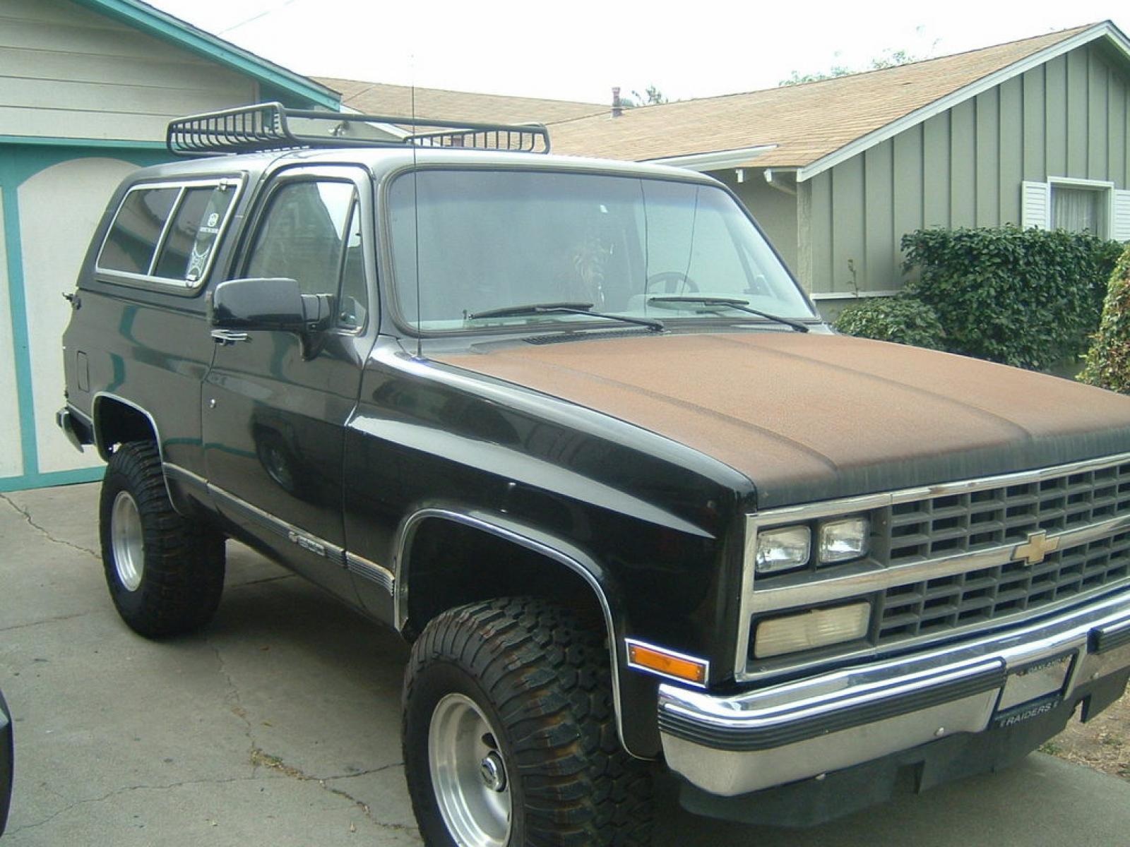 1991 chevrolet blazer information and photos zomb drive Chevy K5 Blazer