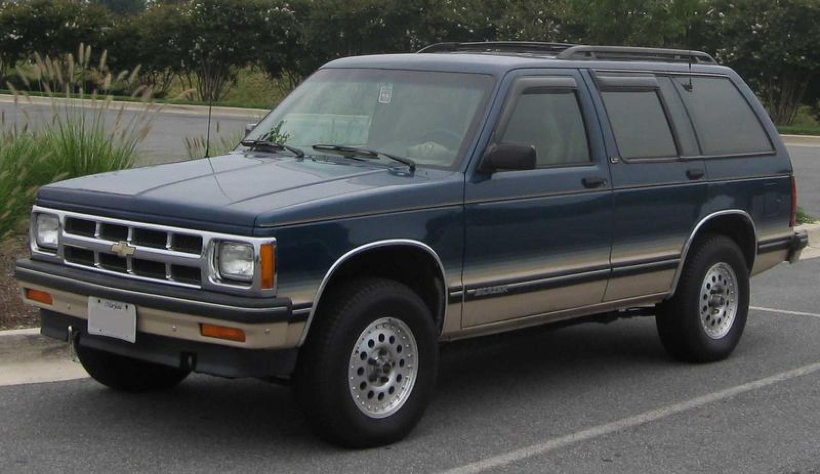 1991 Chevrolet Blazer Information And Photos Zombiedrive Chevy Wiring Diagram 8 800 1024 1280 1600 Origin