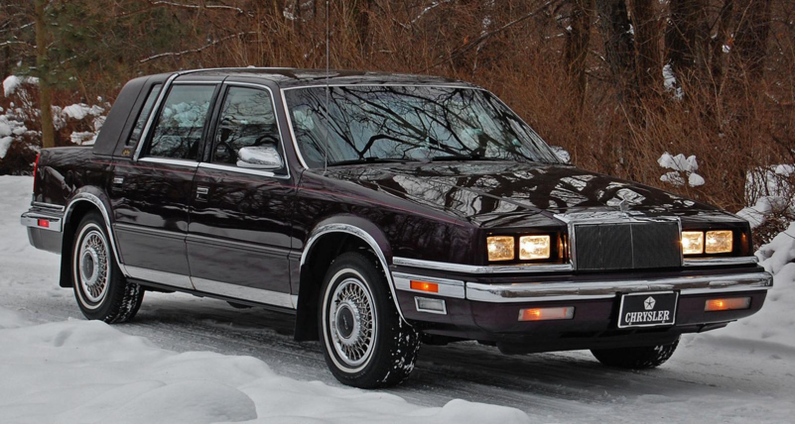 1991 Chrysler New Yorker 7