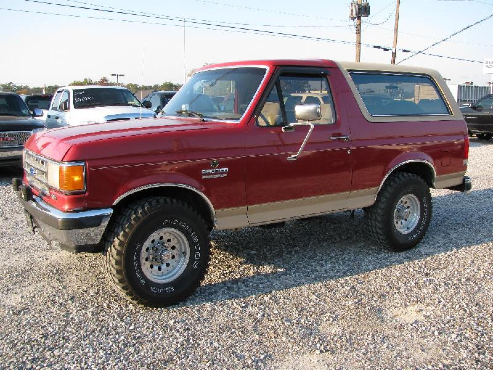 1991 ford bronco information and photos zombiedrive