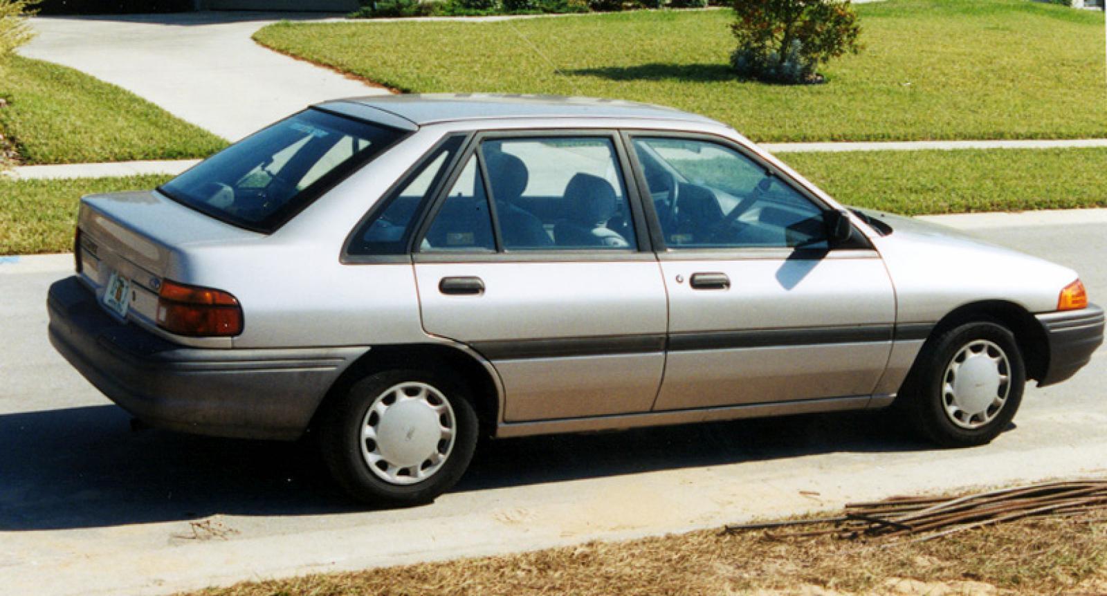 ford escort 1991 5 модель