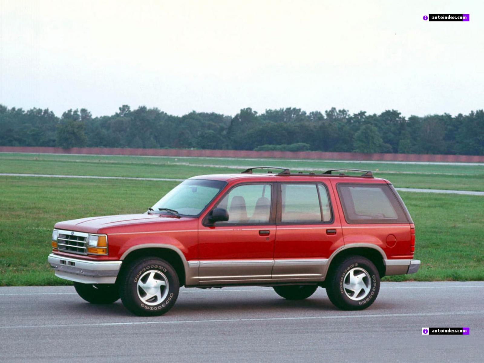 ford explorer 1991 - 1994 салон