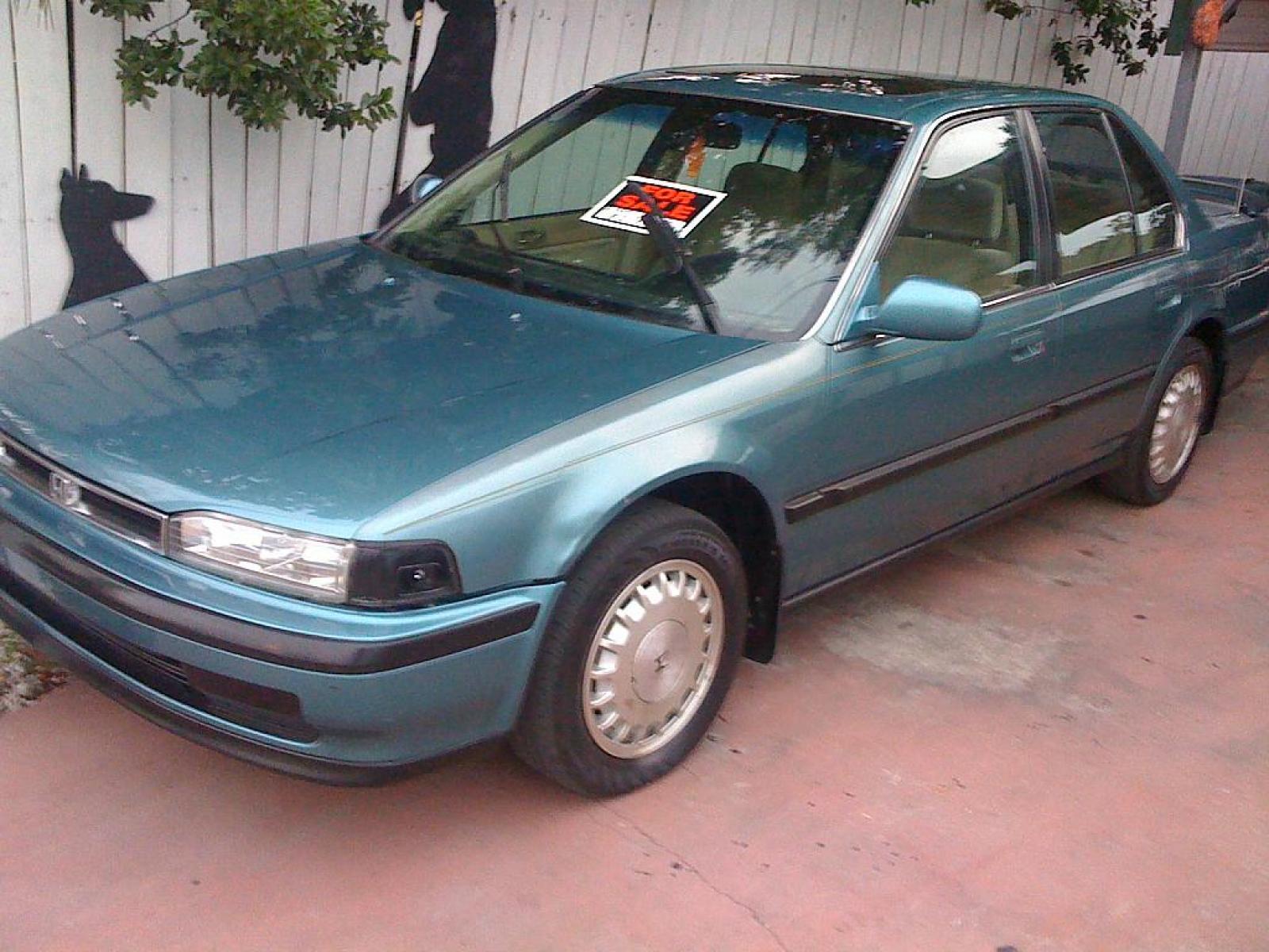 800 1024 1280 1600 origin 1991 Honda Accord ...