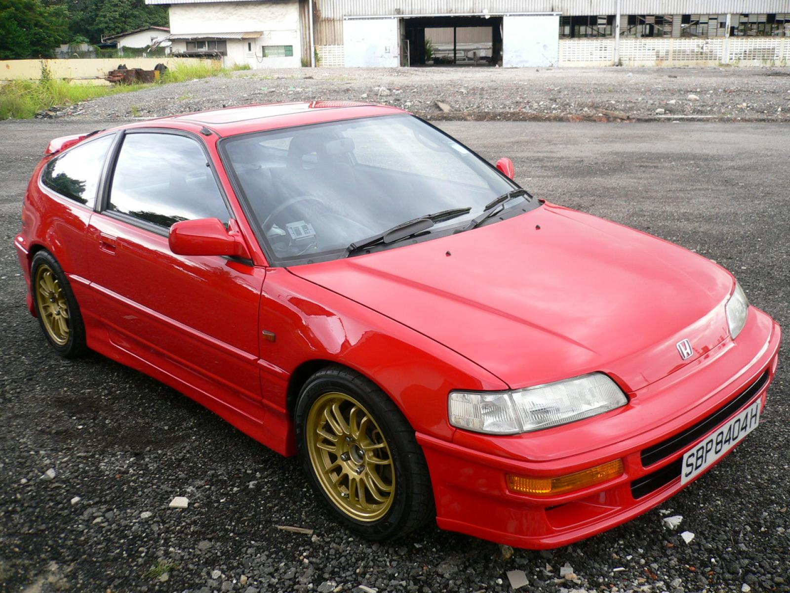 a6c2297c2f 1991 Honda Civic CRX - Information and photos - ZombieDrive