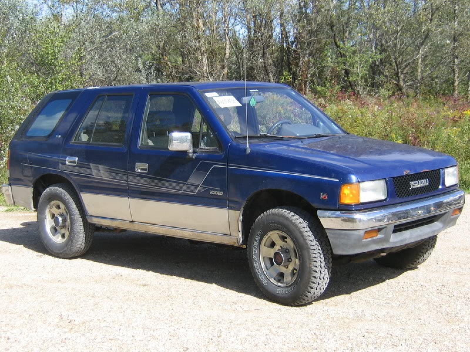1991 isuzu rodeo information and photos zombiedrive