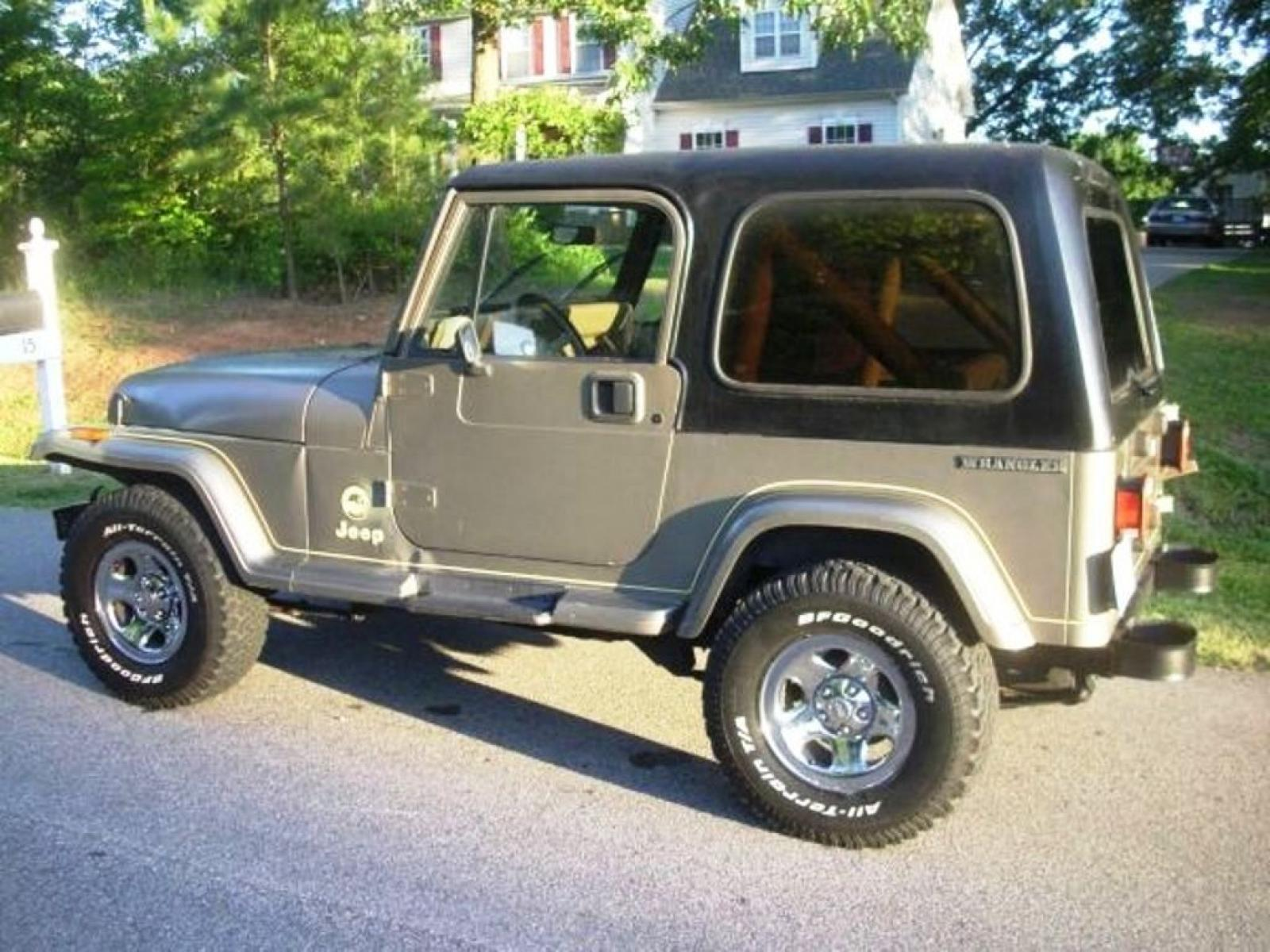1991 Jeep Wrangler Information And Photos Zombiedrive 1988 Hard Top Gallery