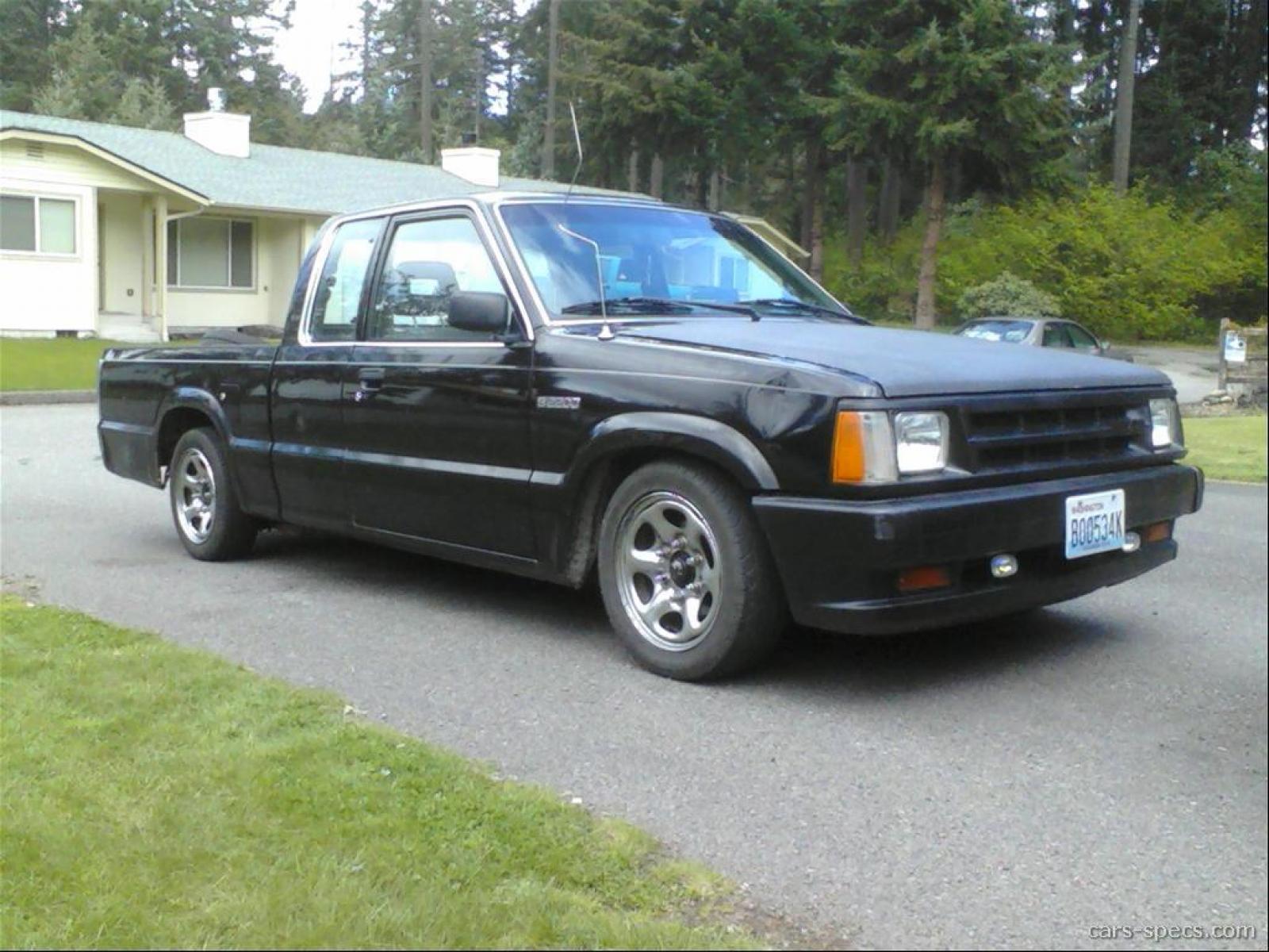 1991 Mazda B-Series Pickup - Information and photos - ZombieDrive