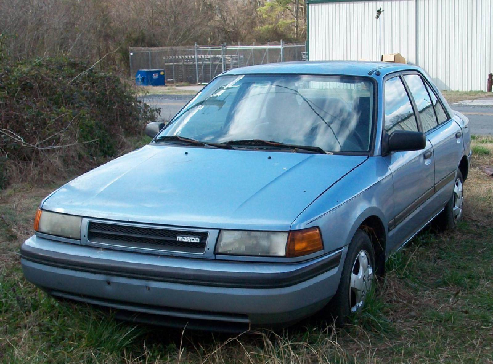 1991 Mazda Protege - Information and photos - ZombieDrive