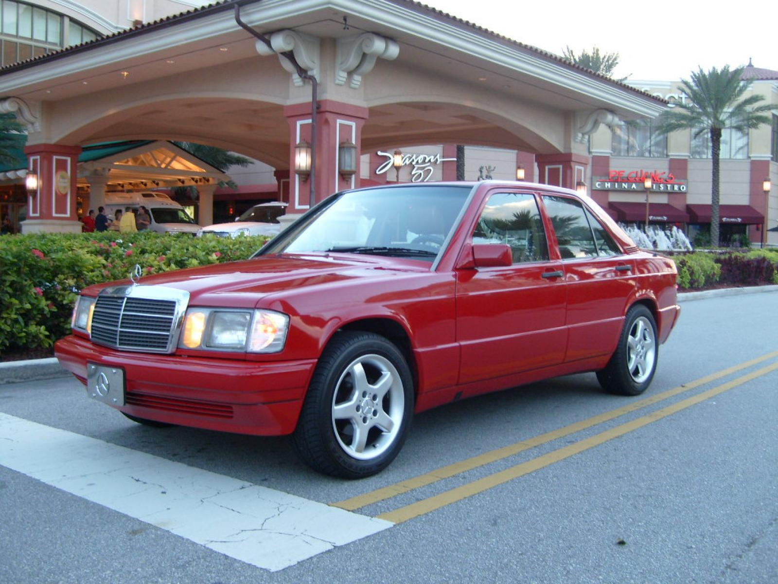 1991 mercedes benz 190 class information and photos for 1991 mercedes benz