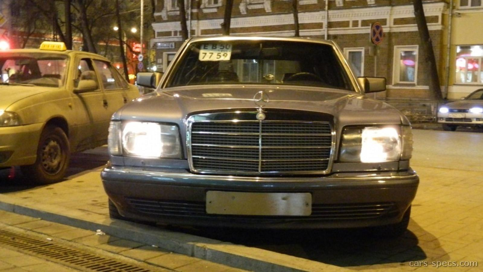 1991 mercedes benz 560 class information and photos for Facts about mercedes benz