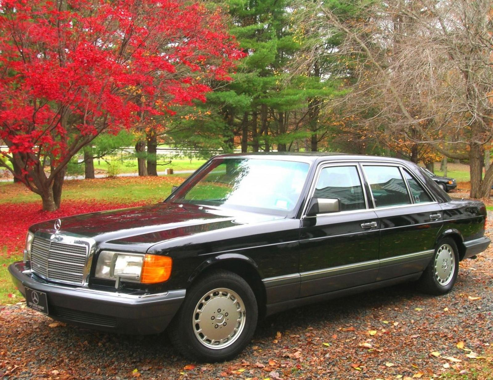 1991 mercedes benz 560 class information and photos for 1991 mercedes benz