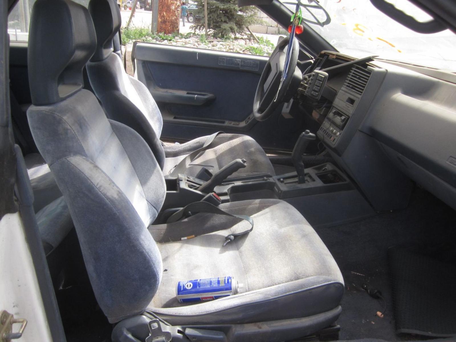 1991 Subaru Xt Information And Photos Zombiedrive