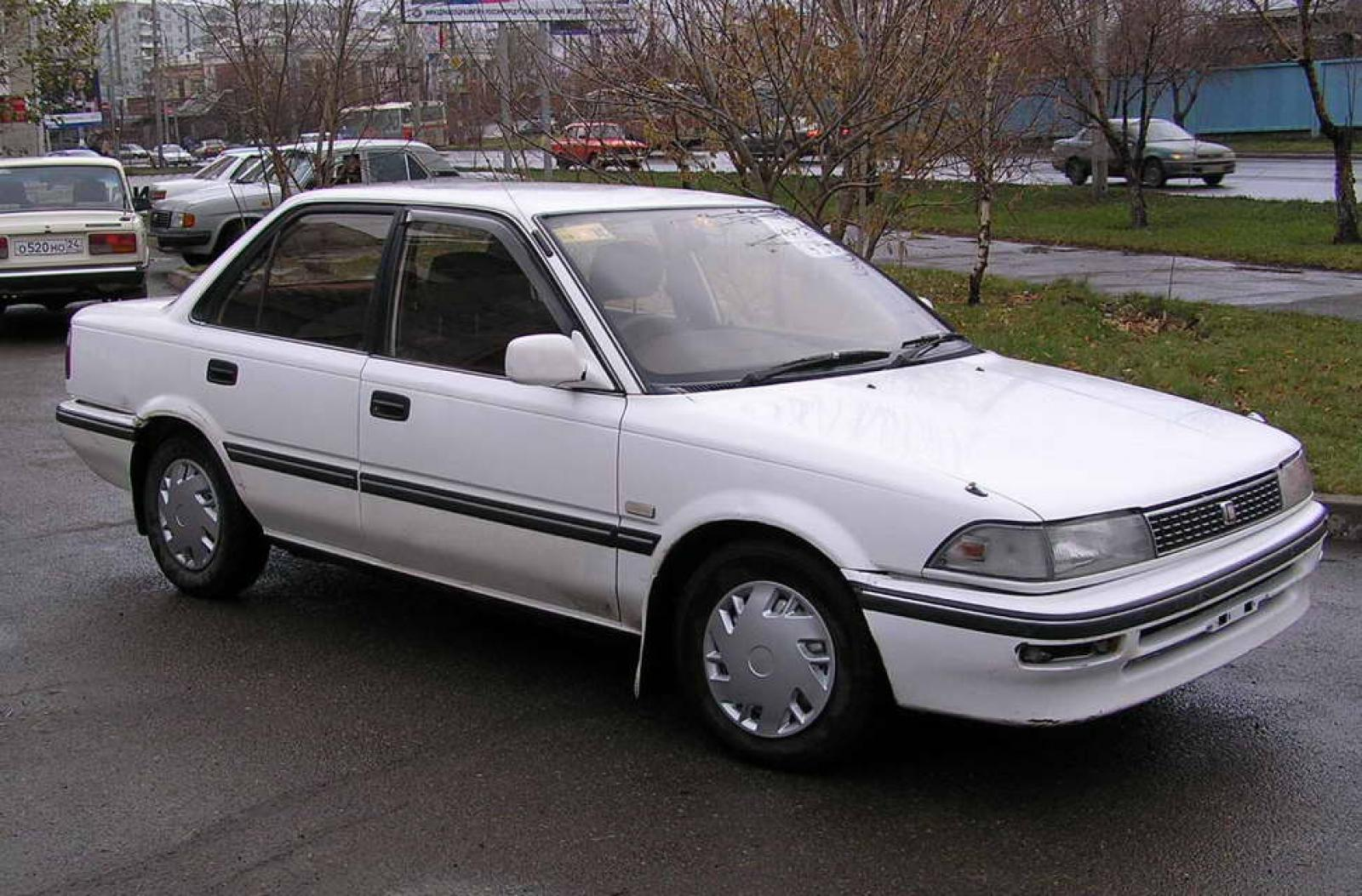 800 1024 1280 1600 origin 1991 Toyota Corolla ...