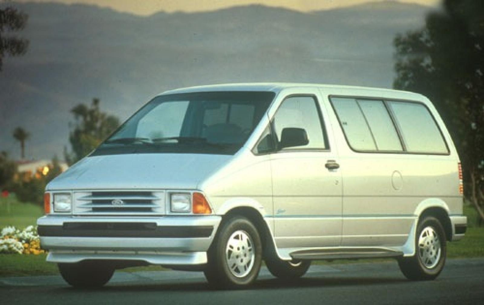 Ford 12 Passenger Van >> 1990 Ford Aerostar - Information and photos - Zomb Drive