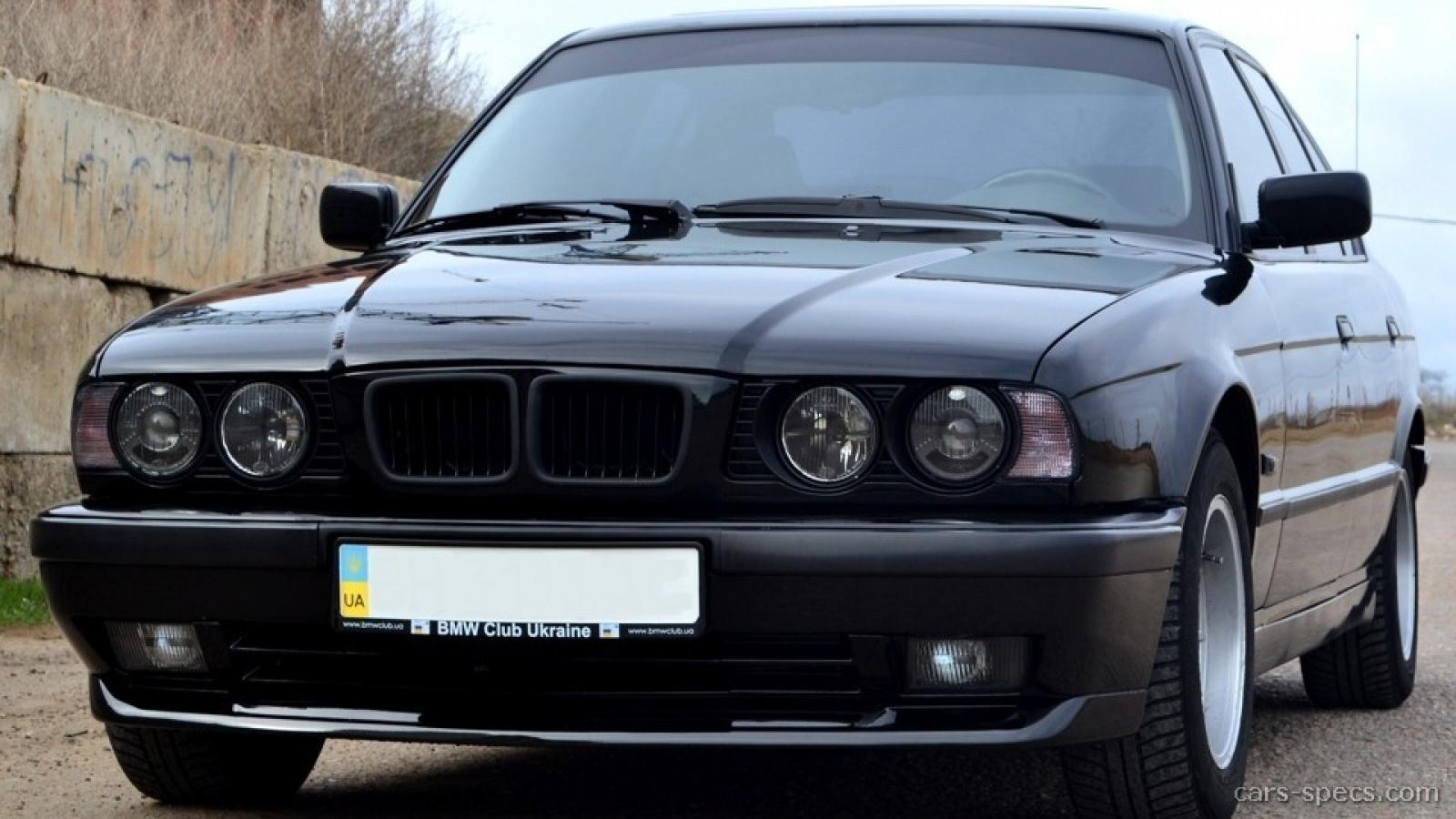 1992 bmw 5 series - information and photos - zombiedrive