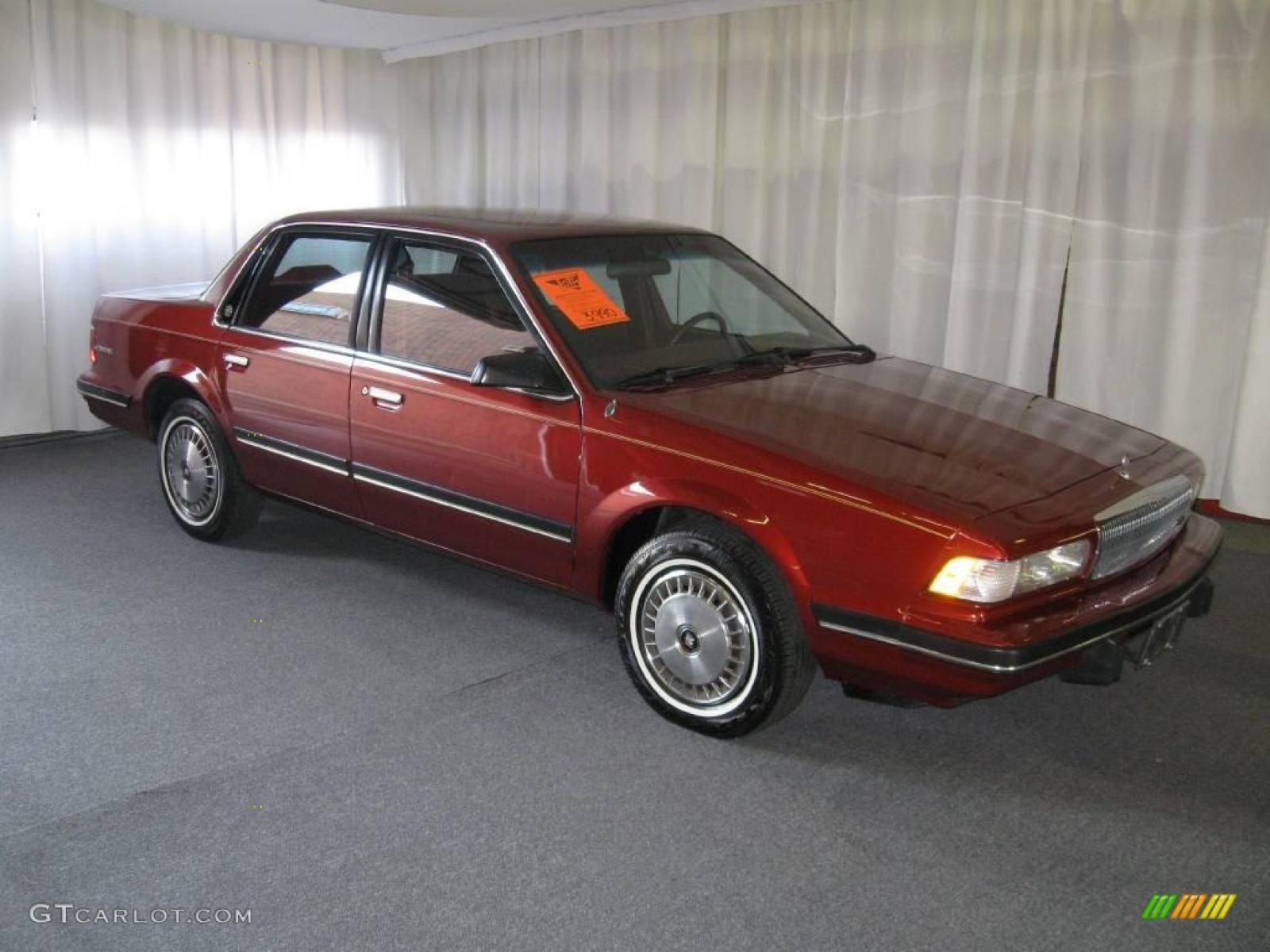 1992 buick century interior