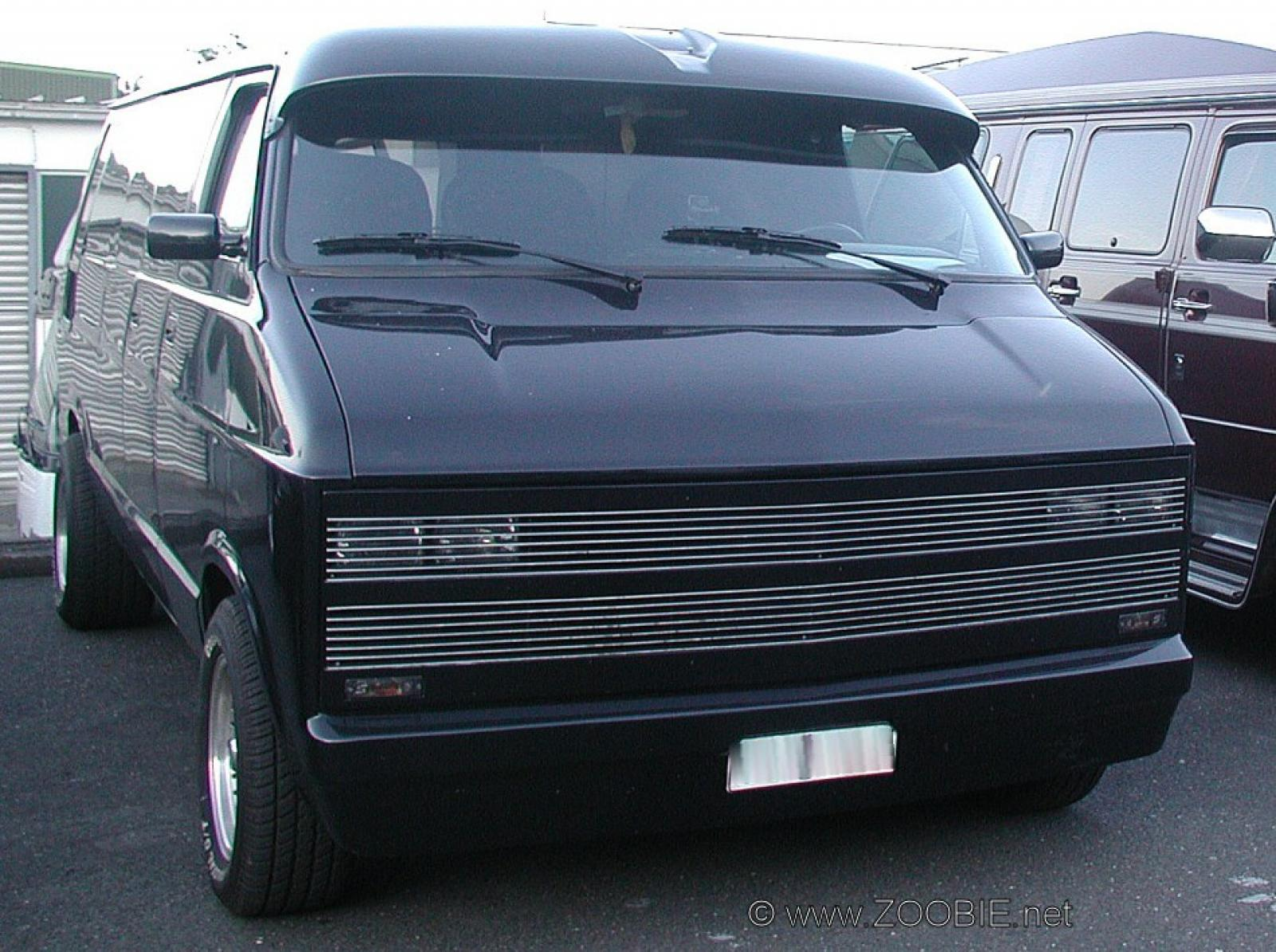 1992 Chevrolet Chevy Van - Information and photos - Zomb Drive