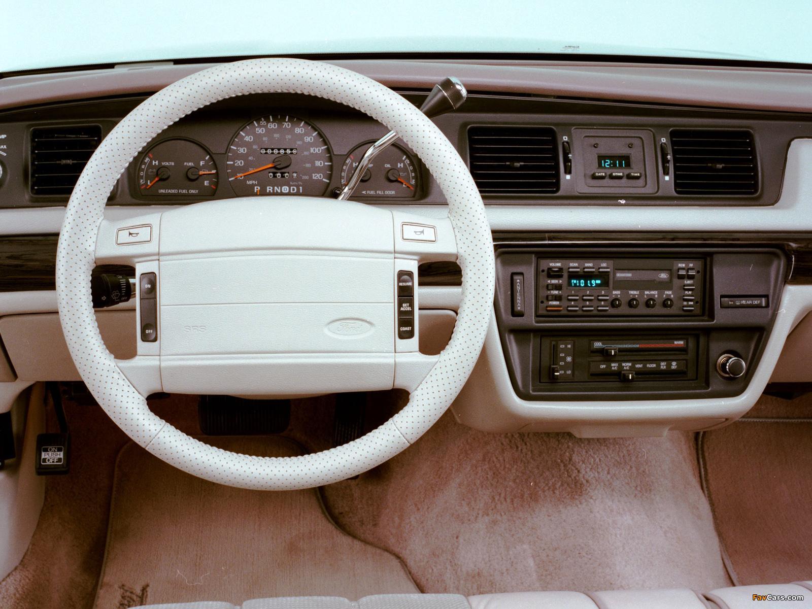 Ford Crown Victoria    Origin