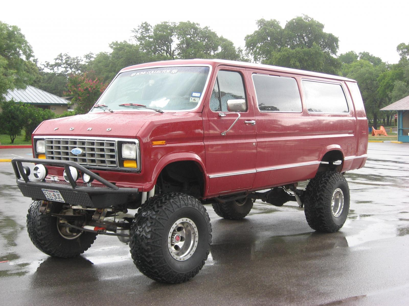1992 ford e 350 information and photos zombiedrive. Black Bedroom Furniture Sets. Home Design Ideas