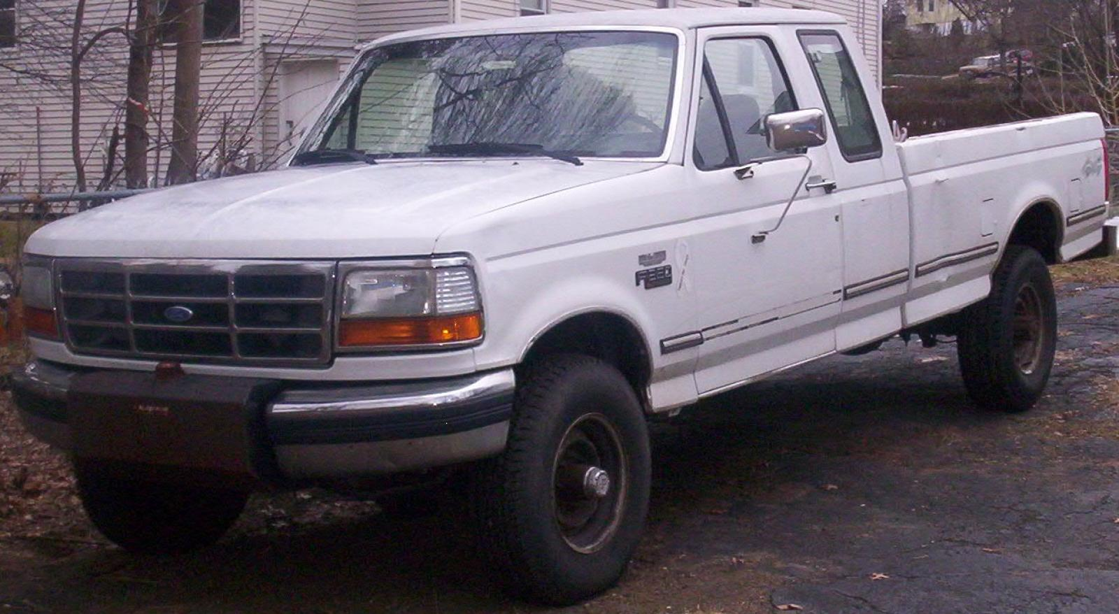1992 Ford F250 >> 1992 Ford F-250 - Information and photos - Zomb Drive