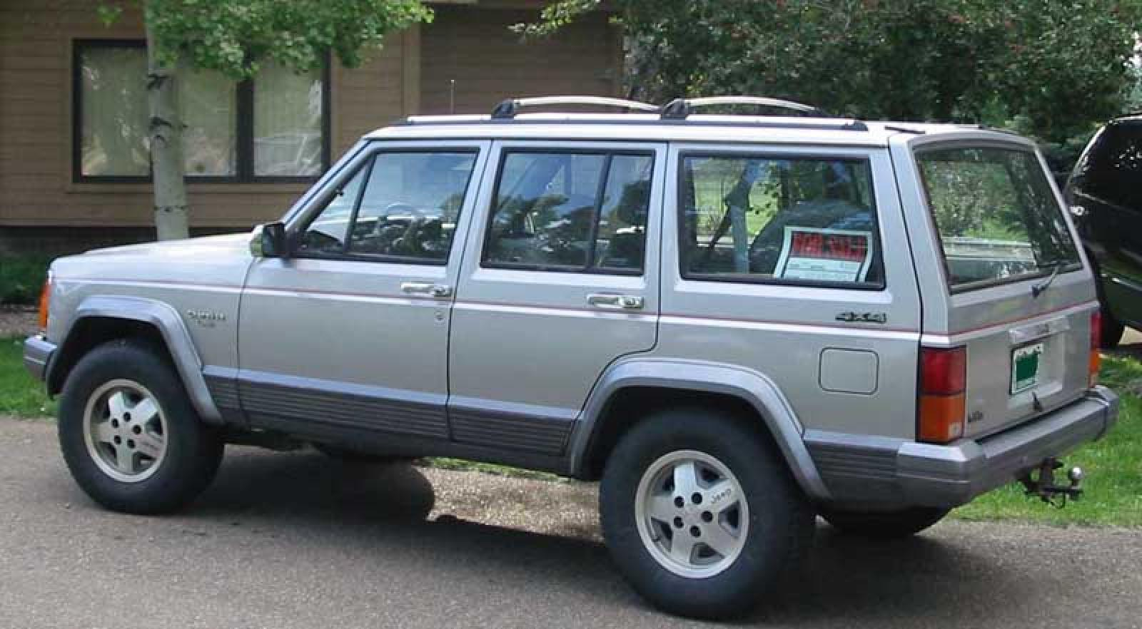 1992 jeep cherokee - information and photos - zombiedrive