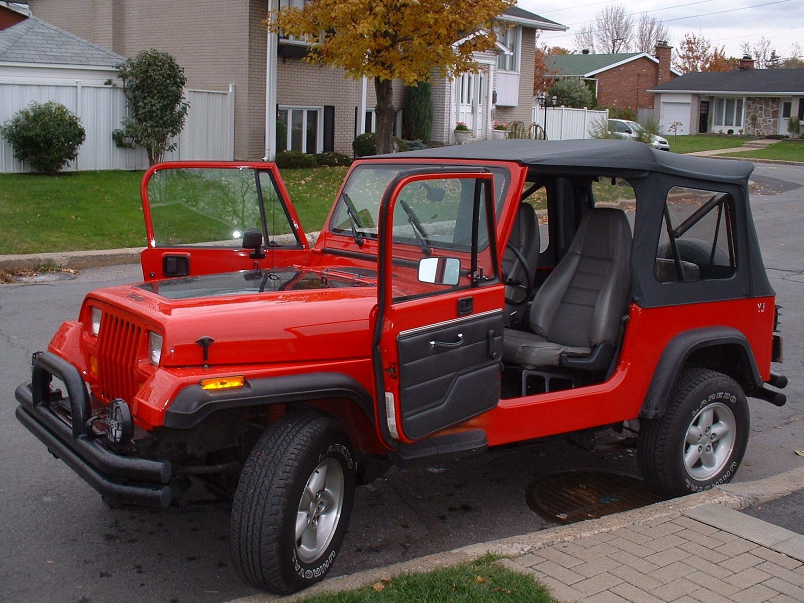 1992 jeep wrangler - information and photos - zombiedrive