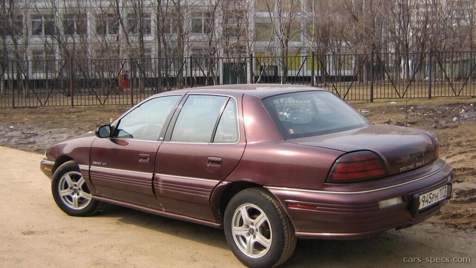 1992 Pontiac Grand Am 9