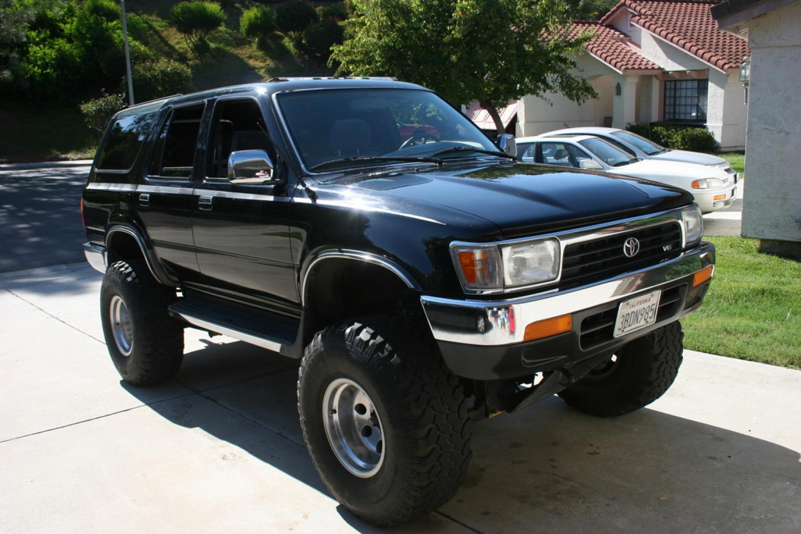 1992 toyota 4runner information and photos zombiedrive rh zombdrive com 1992 toyota 4runner owners manual 1991 toyota 4runner manual transmission