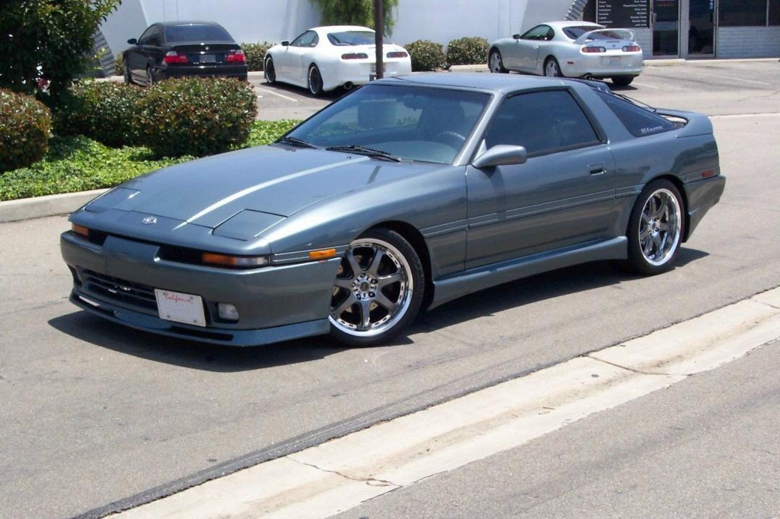 1992 toyota supra information and photos zombiedrive. Black Bedroom Furniture Sets. Home Design Ideas