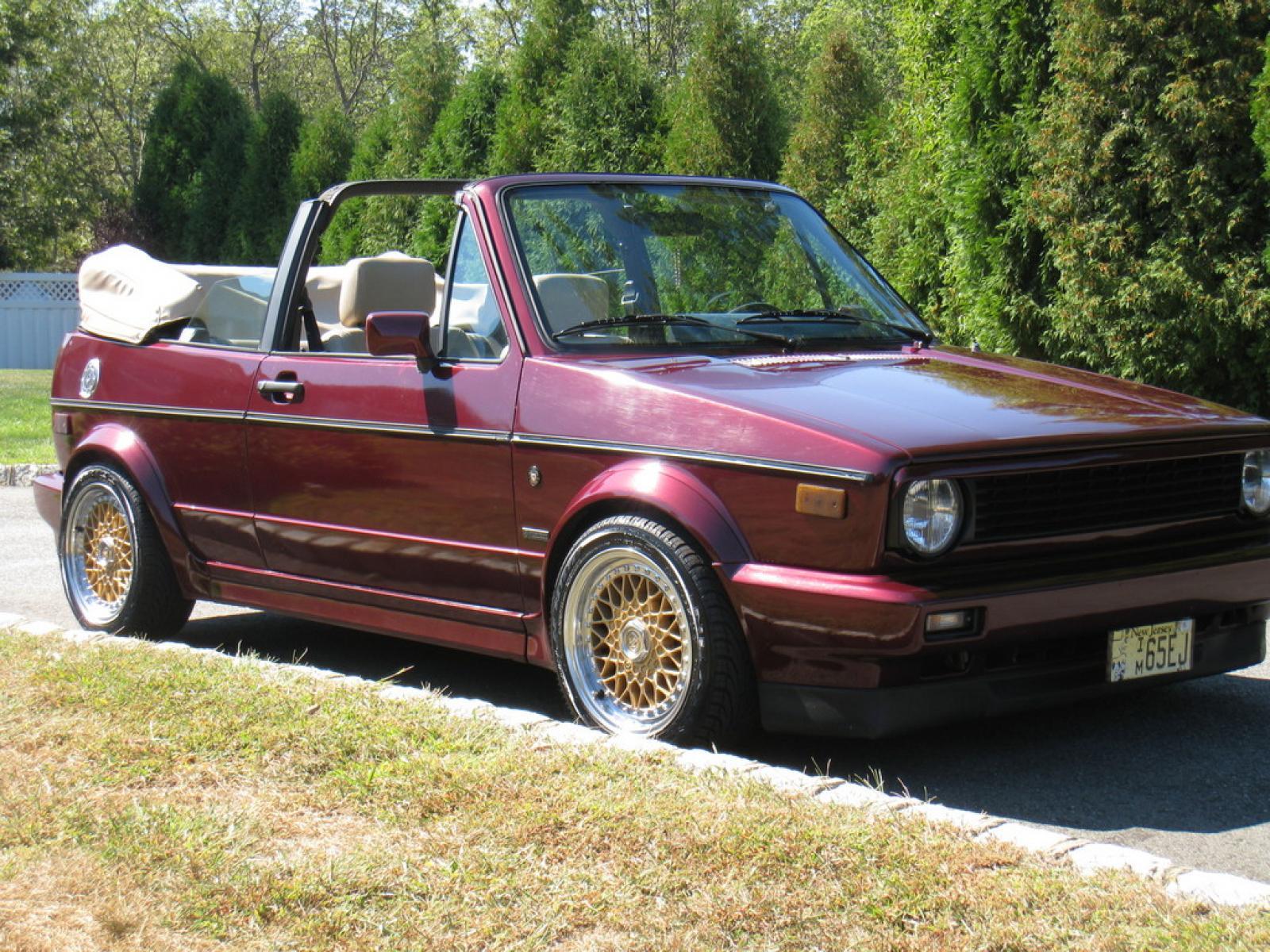 1992 Volkswagen Cabriolet 5