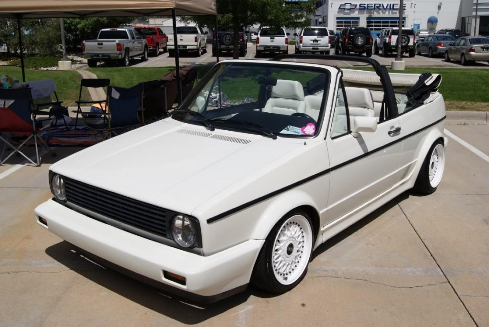 1992 Volkswagen Cabriolet - Information and photos - ZombieDrive